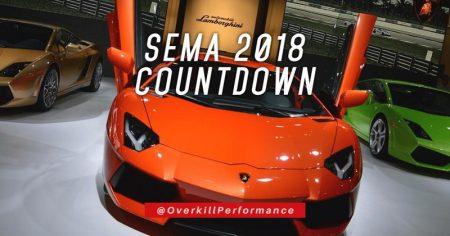 SEMA 2018 Countdown
